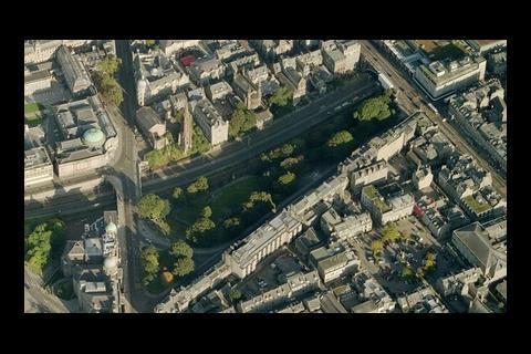 Aberdeen's Union Gardens today